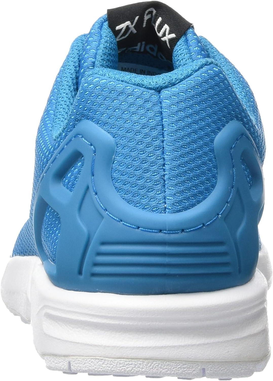 adidas ZX Flux Sneakers Basses Mixte Enfant Bleu (Bold Aqua/Footwear White/Footwear White)