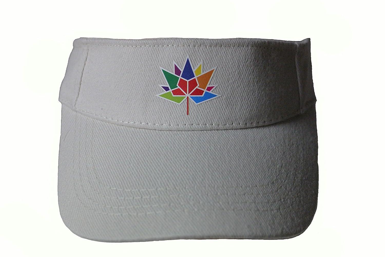 カナダ150年記念1867 – 2017ロゴライトベージュ太陽バイザー帽子キャップ。。新しい   B073SBQS5P