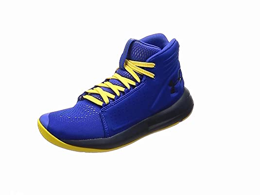 e6c64fe1725 Under Armour Boys   Ua BGS Torch Mid Basketball Shoes  Amazon.co.uk ...