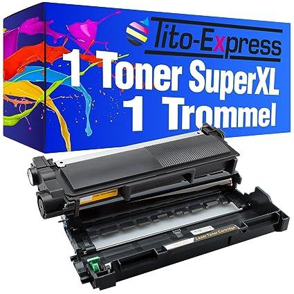 PlatinumSeries 1 Tambor y 1 tóner Super-XL para Brother DR-2300 TN ...