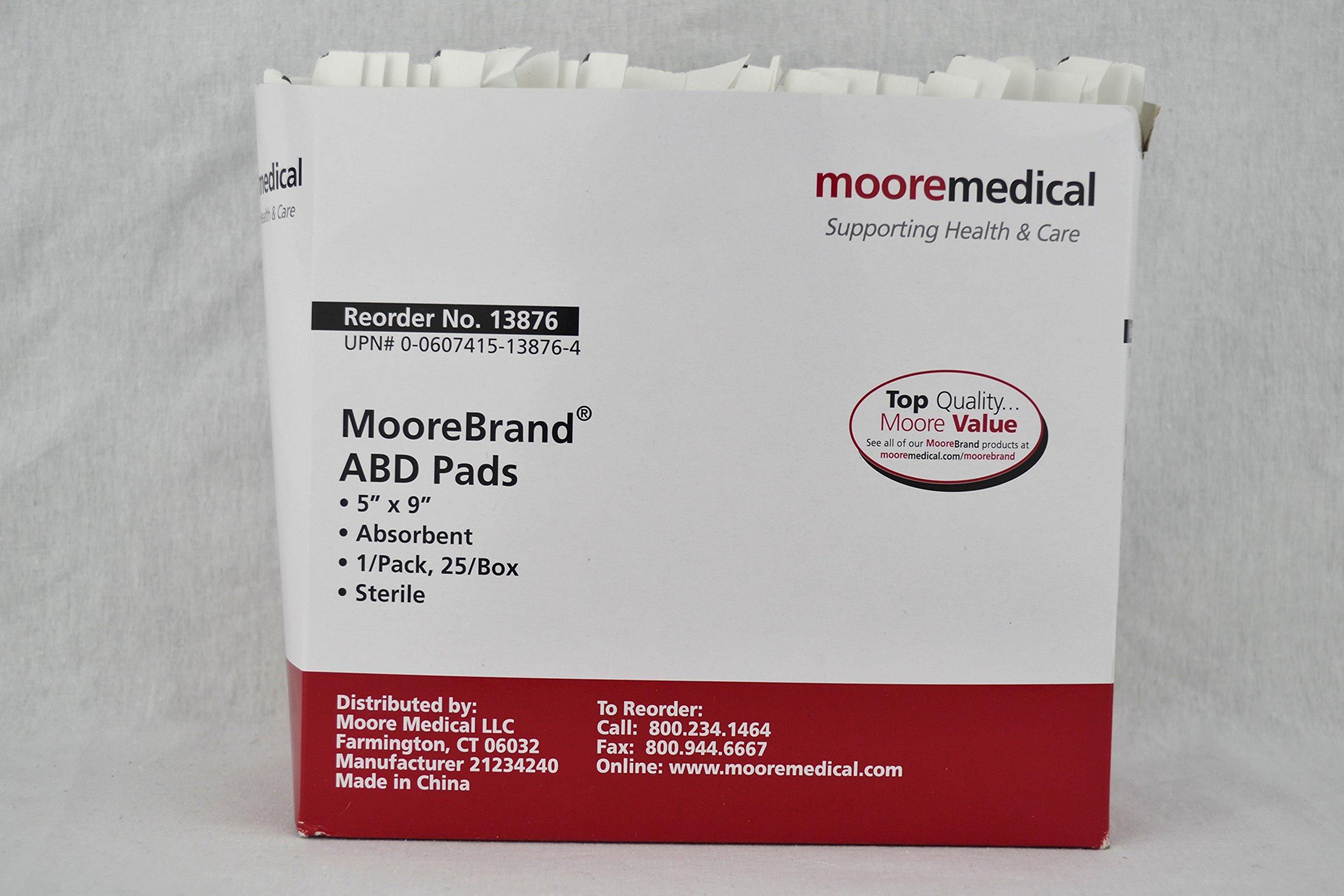 MooreBrand ABD Pads 5 x 9