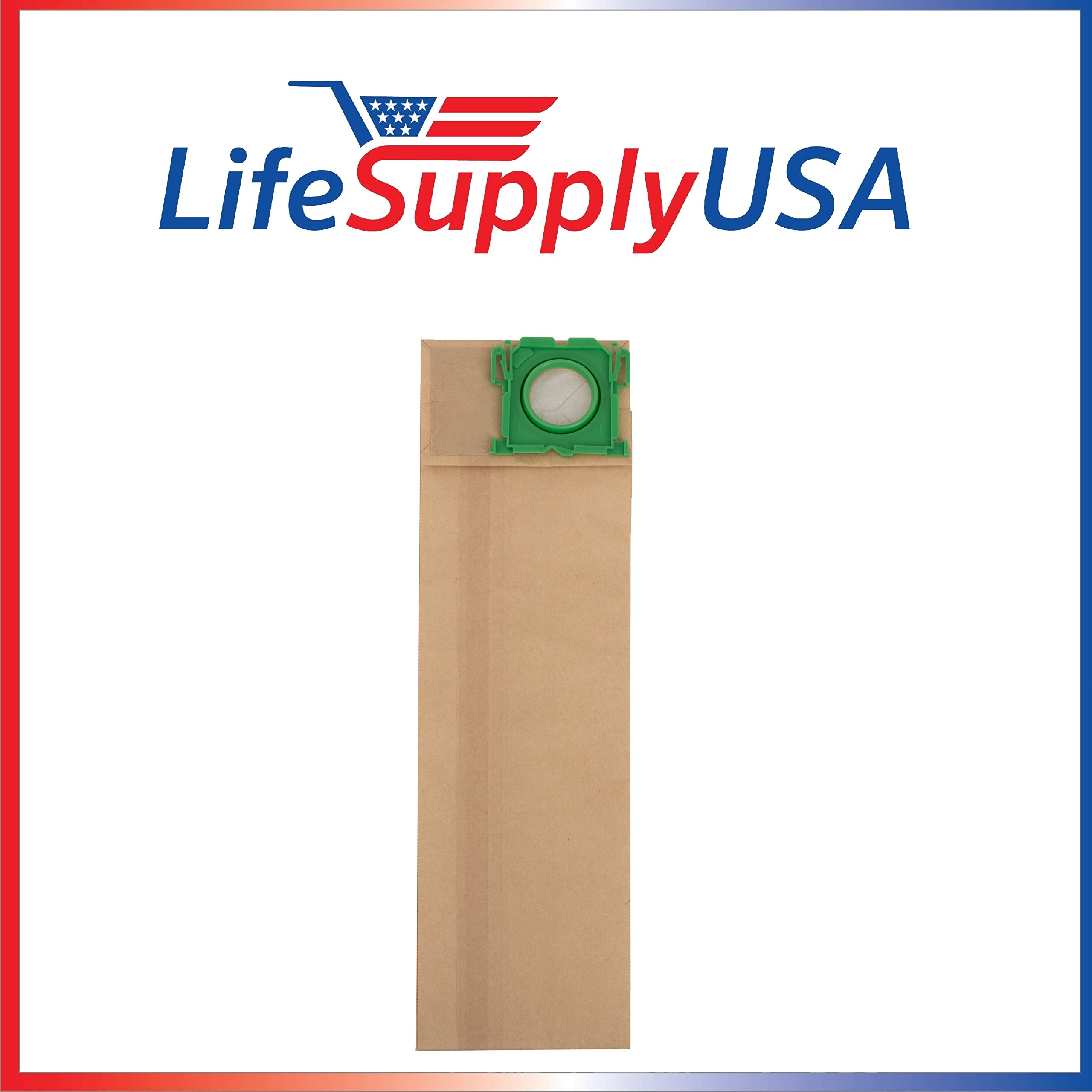 100 Pack Vacuum Bags for Windsor Sensor SR12 SR15 SR18 XP12 Versamatic Plus etc by LifeSupplyUSA