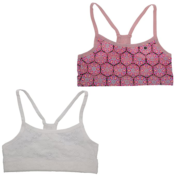 cc2aa450f5 Amazon.com  XOXO Girl Training Bralette Set with Removable Pads