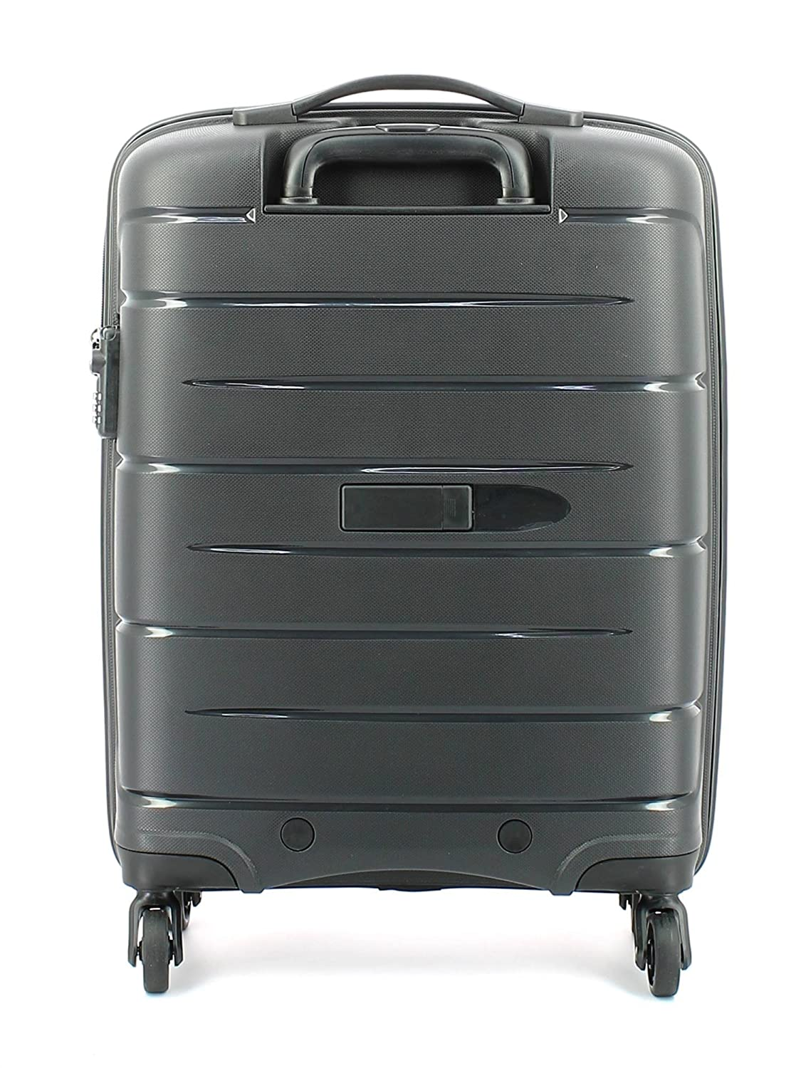 Luggage With Drawers Modo By Roncato Suitcase Cabin Trolley 4 Wheels Starlight 55 Cm
