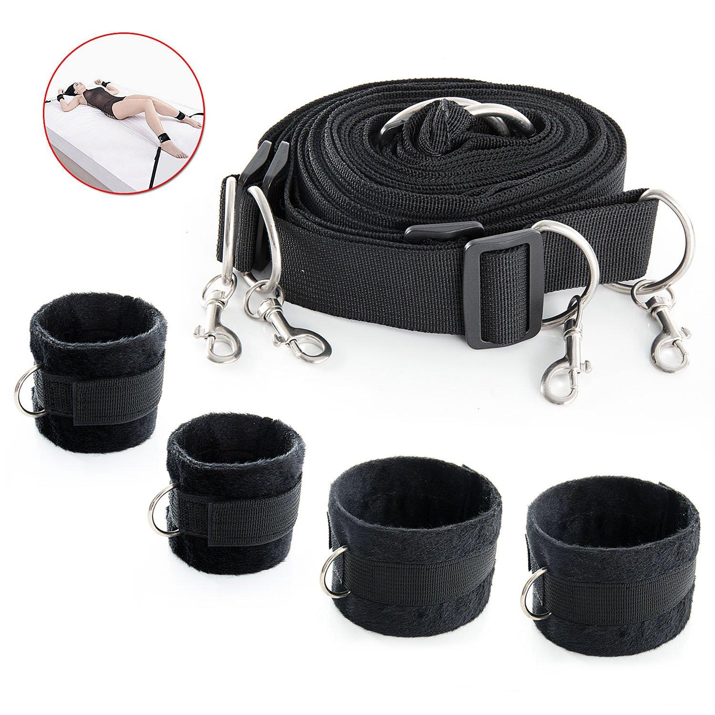 Amazon.de: Bondageset Bett, Meersee BDSM Sex Bondage mit Seile ...