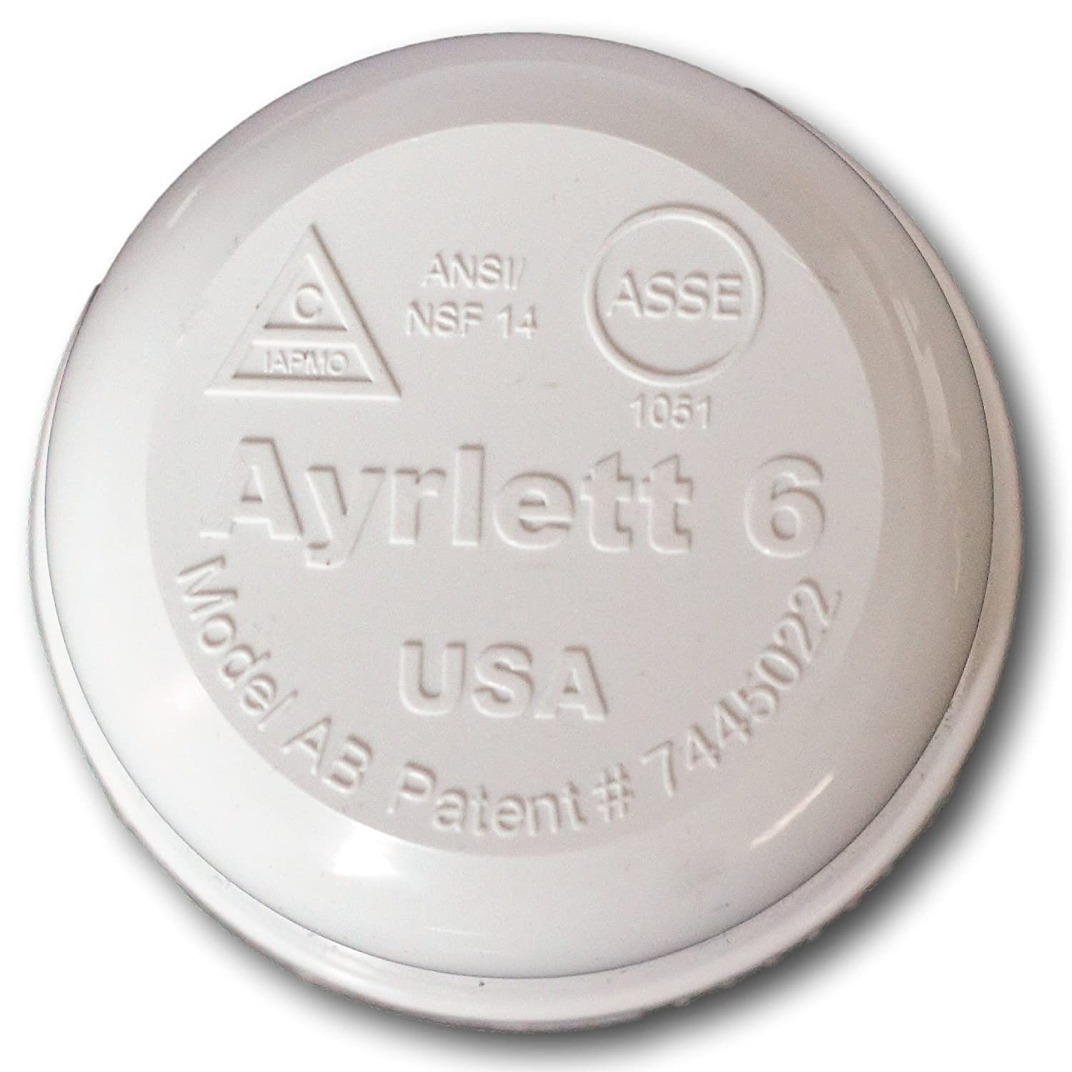 1.25 in - PVC Ayrlett PVC 1.25 Nut Replacement AAV for MHRV RV Vent Replacement Part