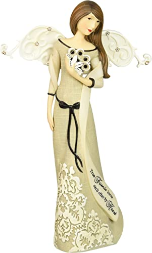 Modele True Friends Angel by Pavilion, Reads True Friends Know Each Other by Heart, 9-Inches Tall
