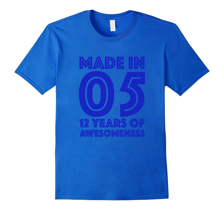 12th Birthday Shirt Gift Age 12 Year Old Boys Tshirt Boy Tee BN