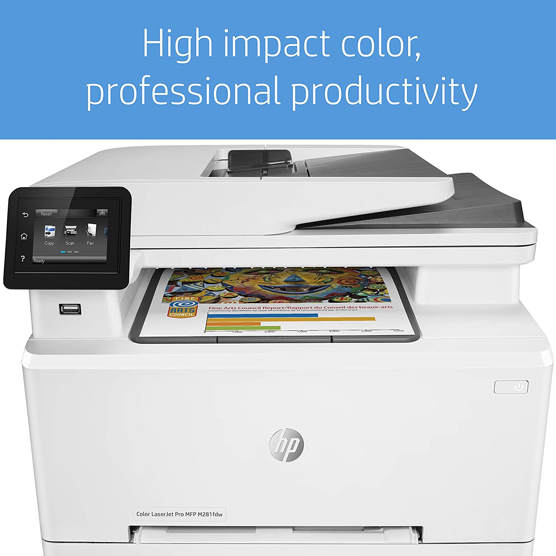 HP Color Laserjet Pro MFP M281fdw - Impresora multifunción láser ...