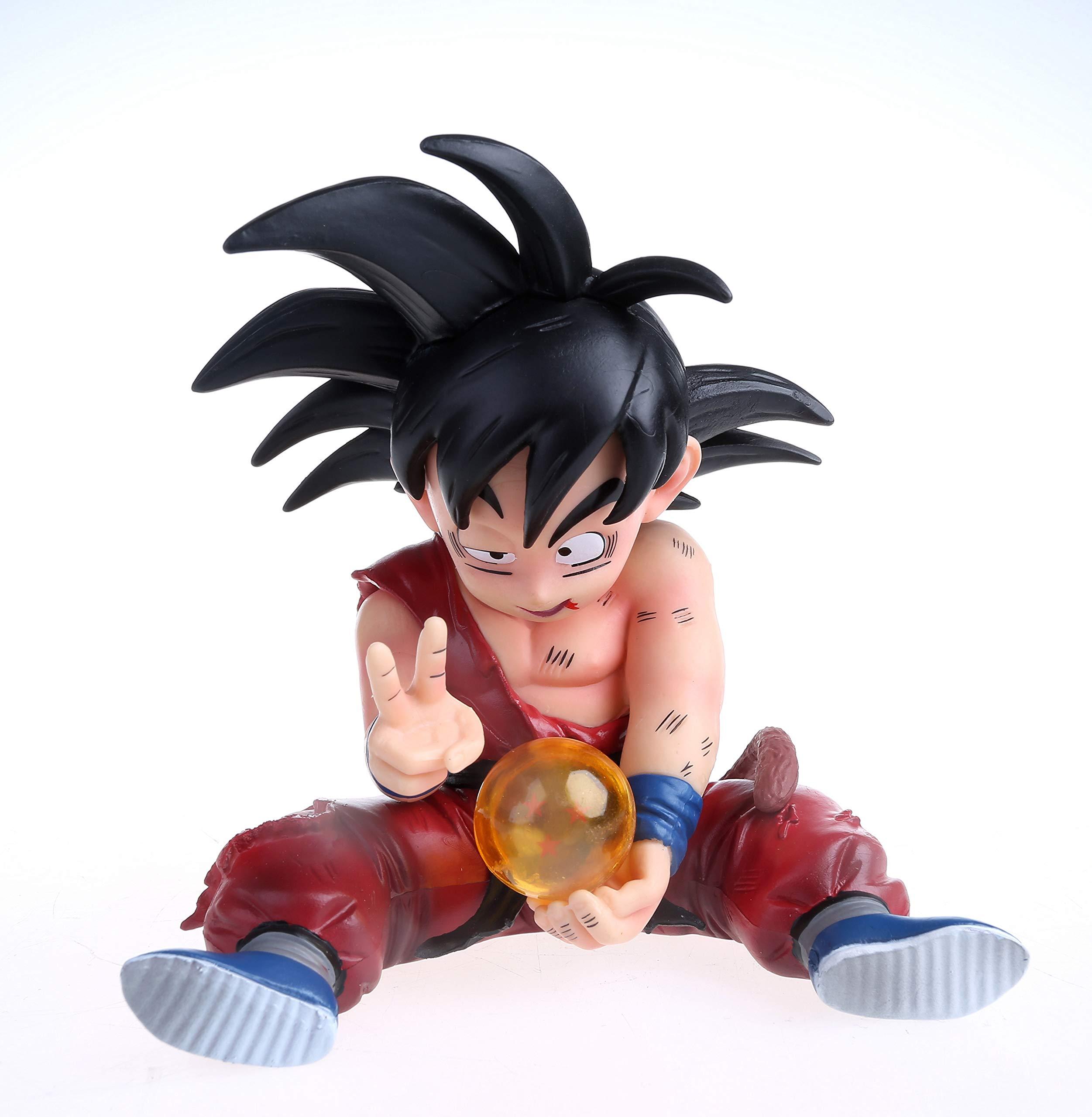 KELAKE Dragon Ball Z Actions Figures DBZ Super Saiyan Goku Figure Statue Figurine Model Doll Collection Birthday Gifts PVC - 5 Inch