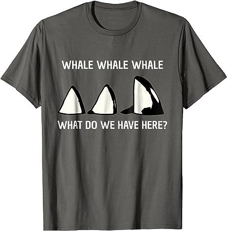 Ballena Ballena Ballena | Funny Animal Broma Juego de palabras Tee Camiseta: Amazon.es: Ropa y accesorios