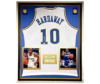 on sale 4e09c 32891 Premium Framed Tim Hardaway Autographed/Signed Golden State ...
