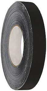 Polyken 510 Premium Grade Gaffers Tape: 1 in. x 55 yds. (Black)