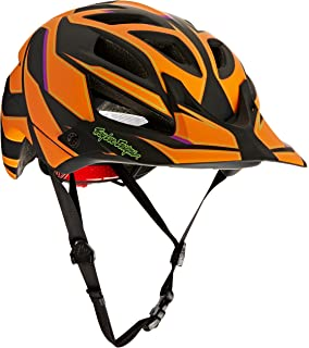 Troy Lee Designs Reflex A1 Adult Bike Sports BMX Helmet - Orange