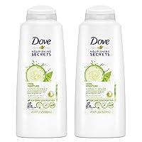 Dove Nourishing Secrets Conditioner Cool Moisture 20.4 oz, Pack of 2