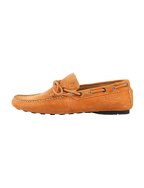 Sparco - mocasines - hombre - Sparco mocasines hombre MAGNY-KOURS arancione - 40: Amazon.es: Zapatos y complementos