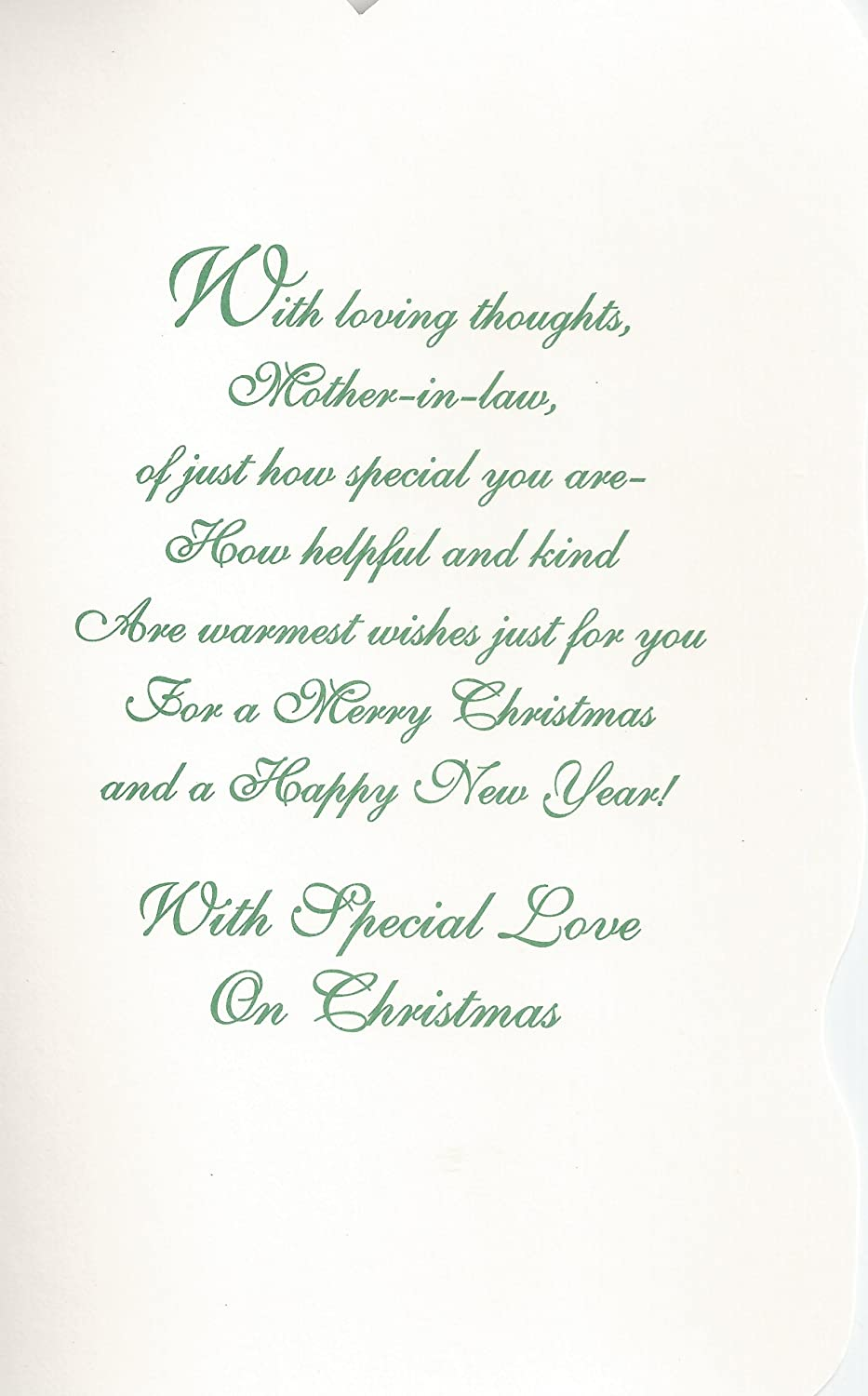 amazoncom mother in law you are special wishing you a merry christmas c20 stationery notepads office products