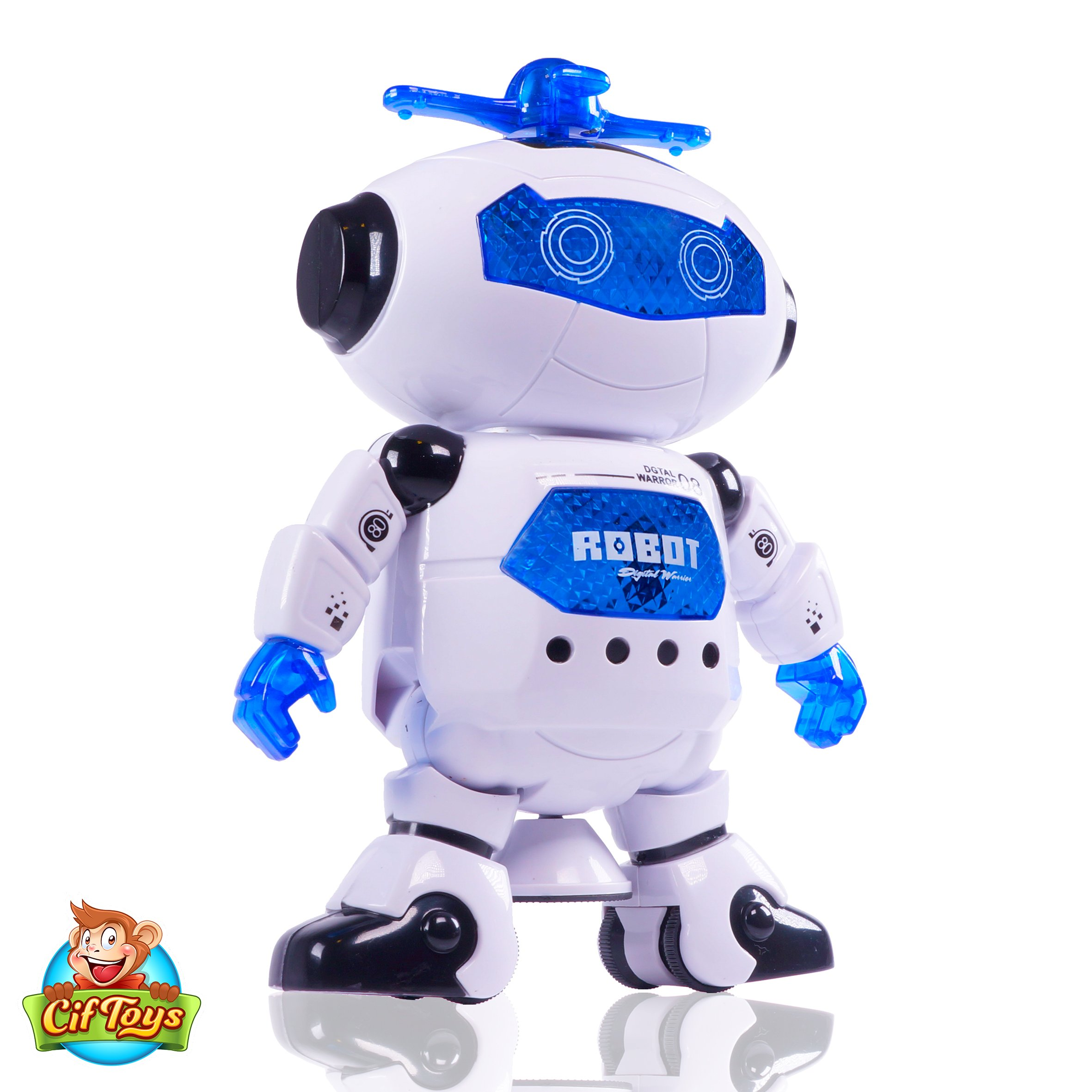 Boys Toys Electronic Walking Dancing Robot Toy - Toddler Toys - Best Gift for Boys and Girls 3 years old by CifToys (Image #2)