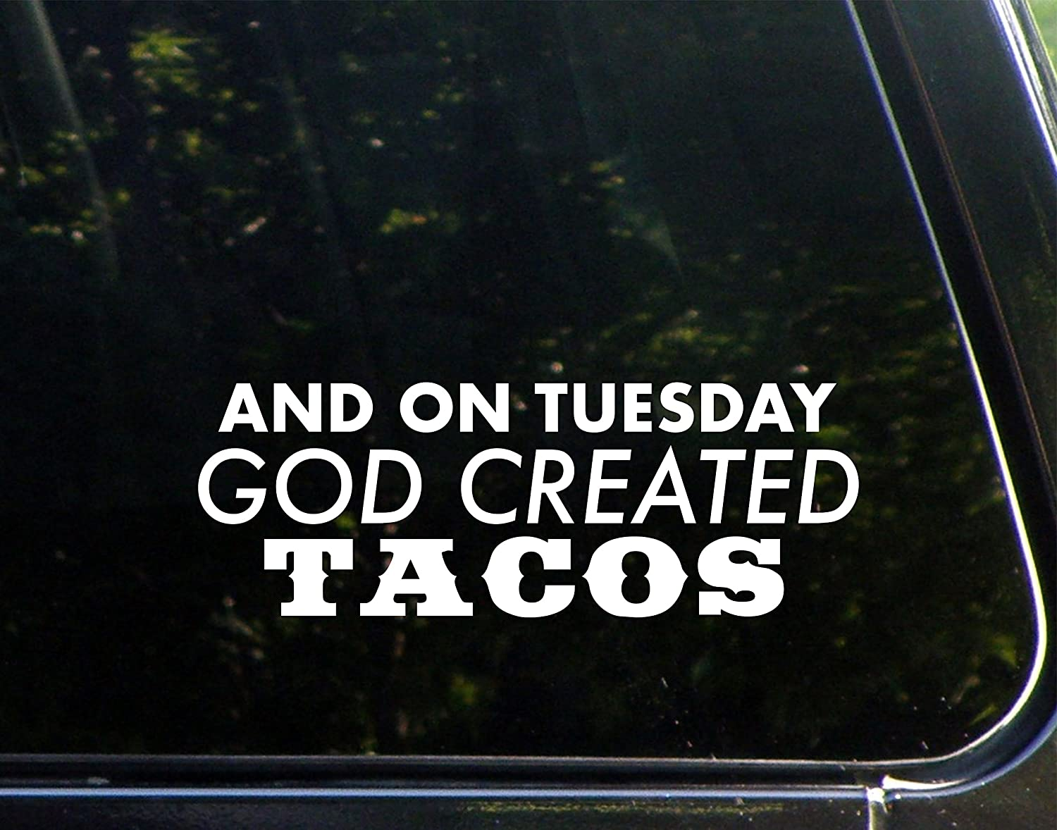 Vinyl Productions and On Tuesday God Created Tacos - 8-3/4