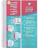 CLAIREFONTAINE - 1 Carnet de Vocabulaire KOVER BOOK A5 (14,8x21 cm) - Reliure Spiralée