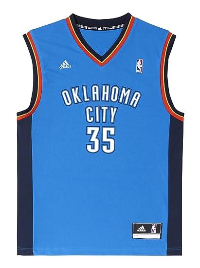 adidas Oklahoma City Thunder Kevin Durant NBA Replica - Camiseta din mangas de baloncesto