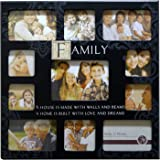 New View MDF Sentiment Stamp Wall Photo Frame 11 Pic-Family