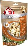 8in1 Delights Chicken (gesunder Kausnack für Hunde, hochwertiges Hähnchenfleisch eingewickelt in Rinderhaut), verschiedene Größen
