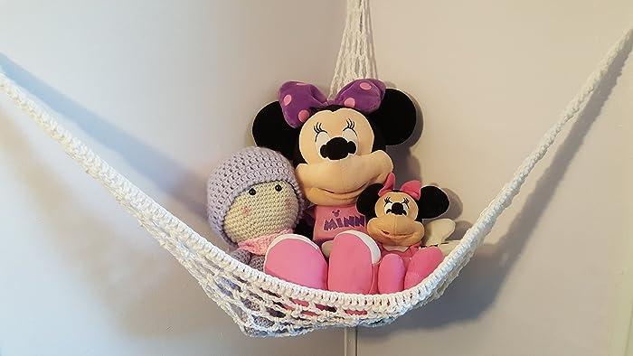 Amazoncom Crochet Corner Toy Hammock Handmade