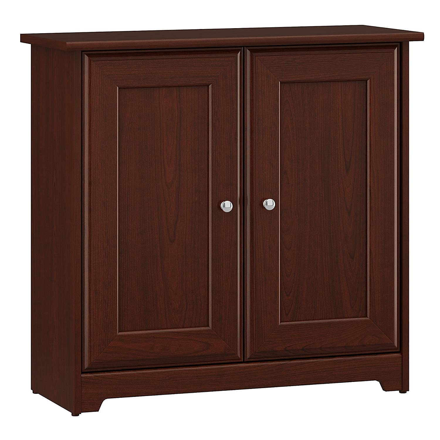 Bush Furniture Cabot Small Storage Cabinet with Doors in Espresso Oak Bush Industries WC31896-03