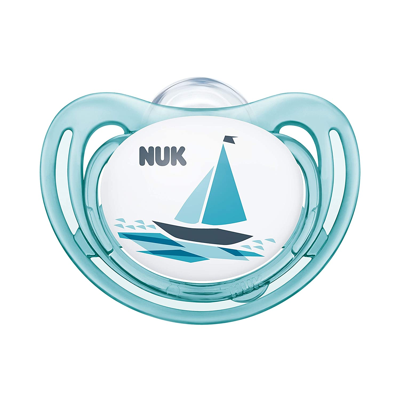 NUK Airflow Orthodontic Pacifier, Girl, 6-18 Months, 2-Pack