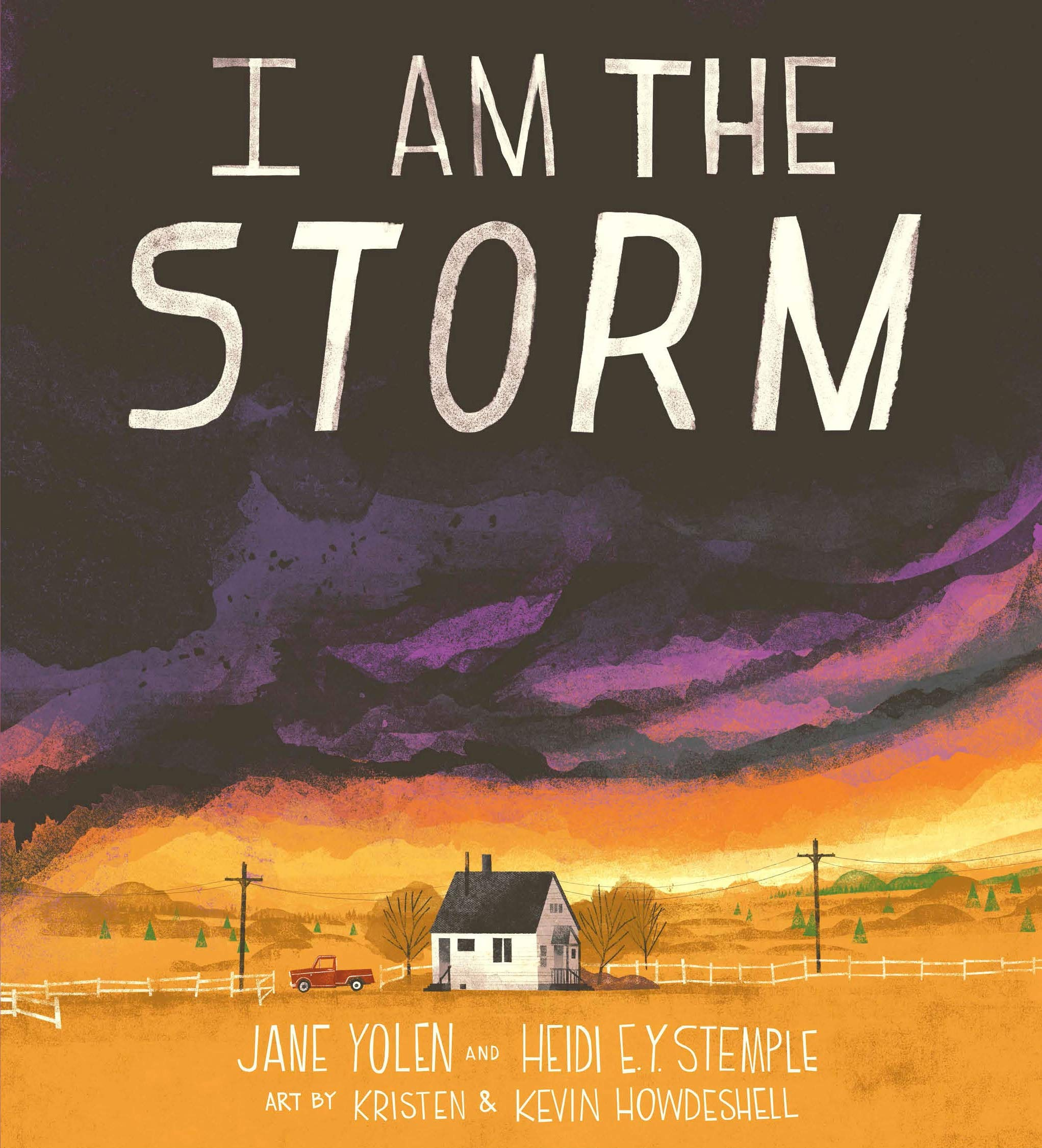 I Am the Storm: Yolen, Jane, Stemple, Heidi E. Y., Howdeshell, Kristen,  Howdeshell, Kevin: 9780593222751: Amazon.com: Books