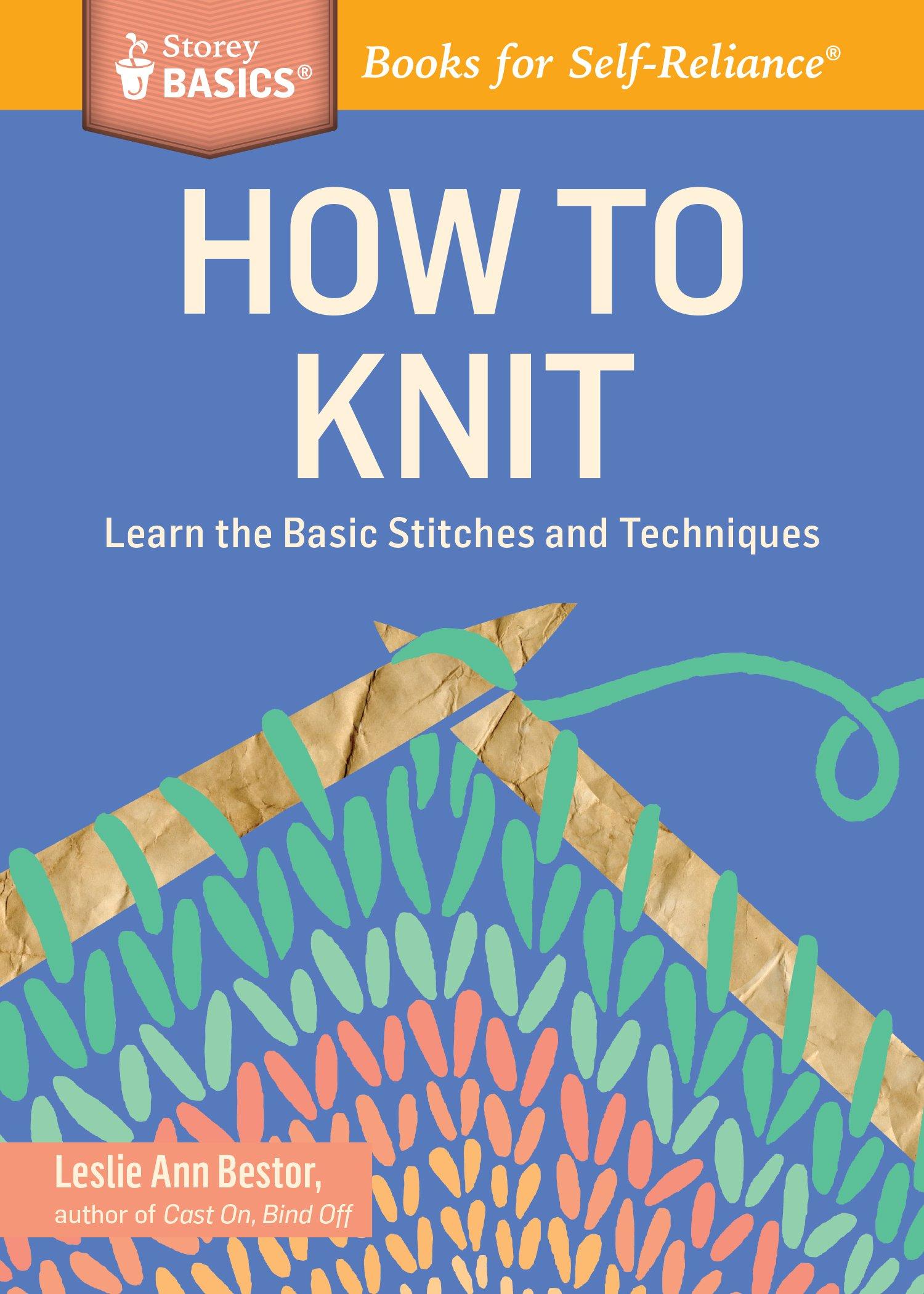 How Knit Stitches Techniques BASICS product image