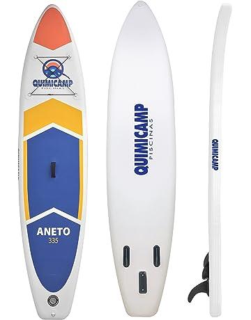 QUIMICAMP - Tabla de Paddle Surf hinchable, 15cm de espesor, incluye remo, bolsa
