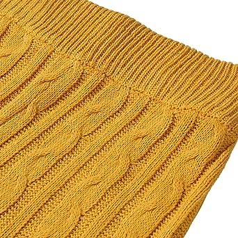 Amazon.com: Conjunto de ropa de dormir para mujer con cable ...