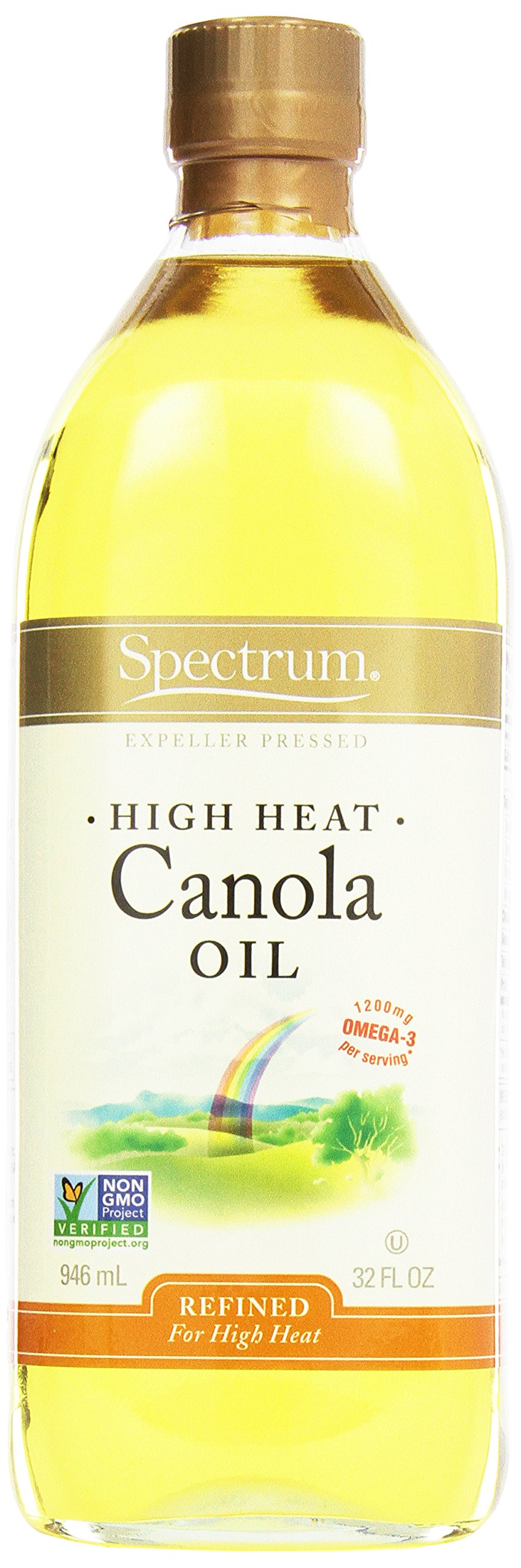 Spectrum Canola Oil, 32 oz