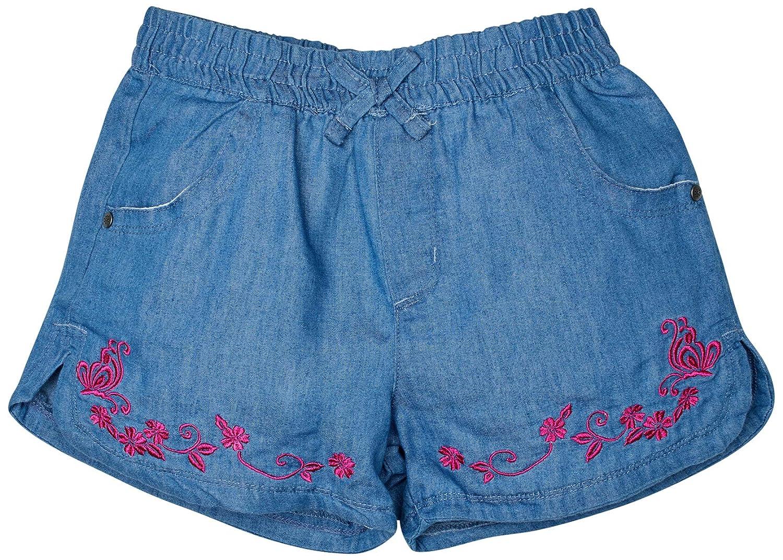 dELiAs Girls Super Soft Denim Chambray Shorts 2 Pack
