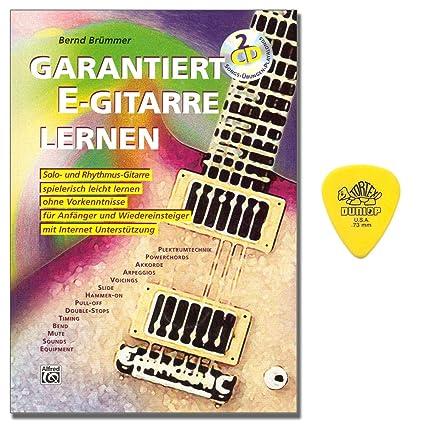 garantiza S de aprendizaje Guitarra – Guitarra Escuela con 2 CD y Dunlop Púa – primera