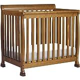 Amazon Com Davinci Alpha Mini Rocking Crib Natural