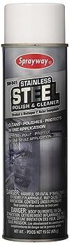 Sprayway 15 oz Aerosol Stainless Steel Cleaner