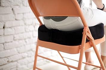 Amazon Com Sleekform Chair Cushion Orthopaedic Memory Foam