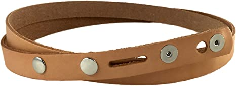 """Belt Blank Natural Vegetable Tanned Cowhide 1-1//4"""" X 42/"""" 4515-00 Tandy Leather"""