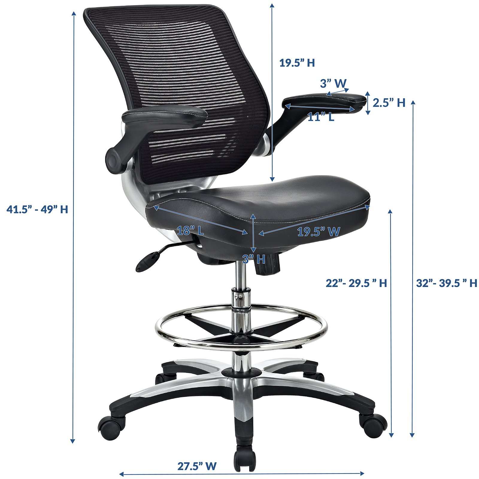 Tall Office Chairs For Standing Desks on art & graphic design desks, tall standing work desk, stand up work desks, ergonomic chairs for standing desks, tall black wood desk, tall lab chairs desk, tall office chair with footrest,