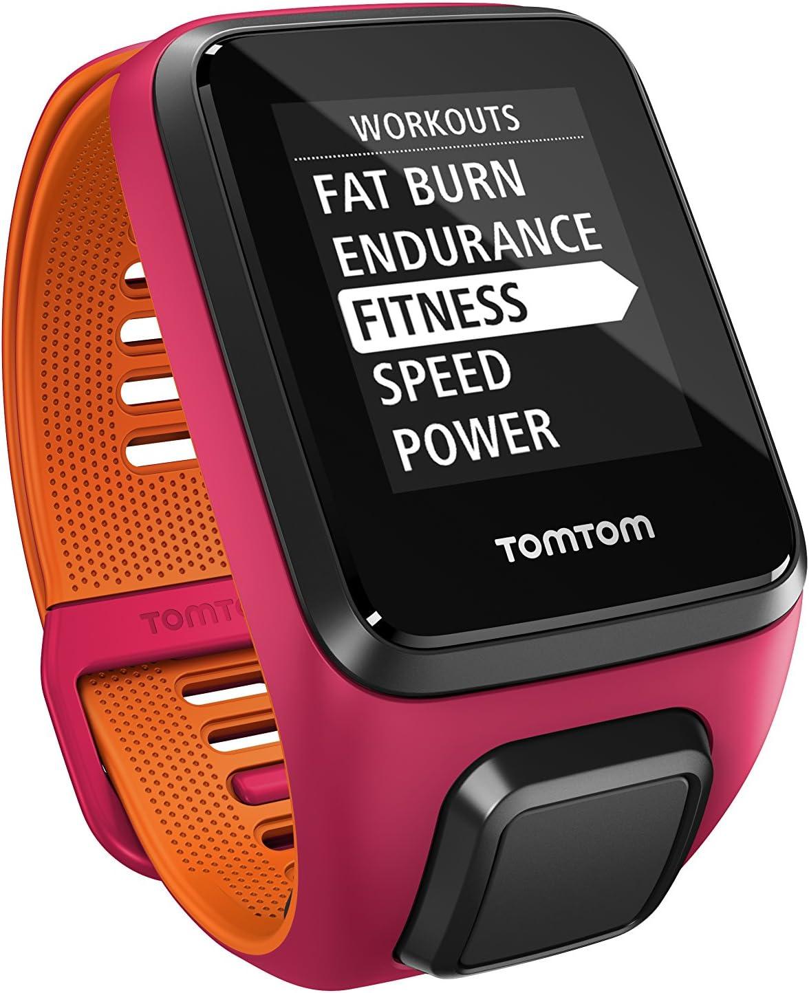 TomTom Runner 3, Reloj, Rosa/Naranja, S (Pequeña): Amazon.es ...