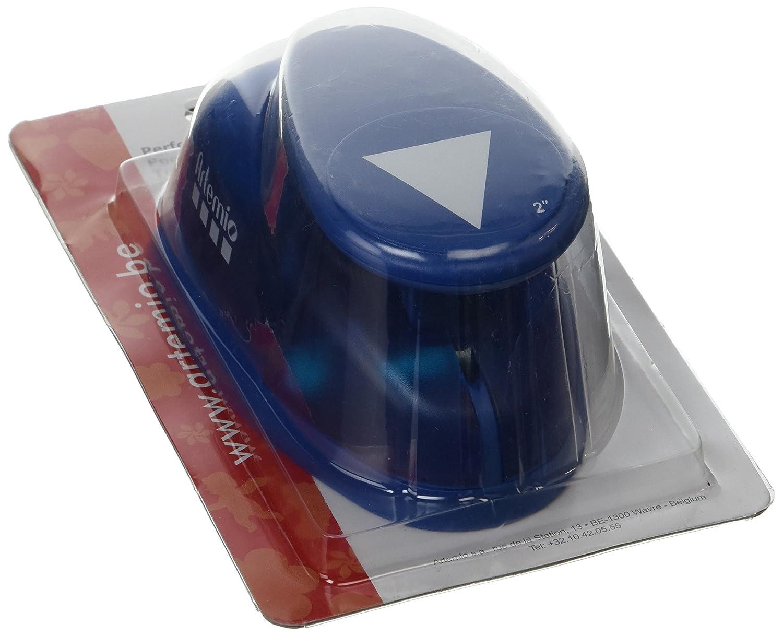 Artemio 5 cm Giant Triangle Lever Punch, Blue VIHCP325