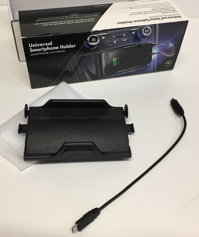 Genuine Opel Astra K PowerFlex Soporte de smartphone, Jet Black (Incluye cable micro USB, 24,5 cm): Amazon.es: Coche y moto