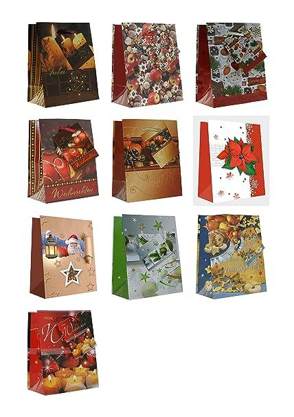 20 Bolsas de regalo Navidad Bolas De Navidad velas Mini S 14 ...