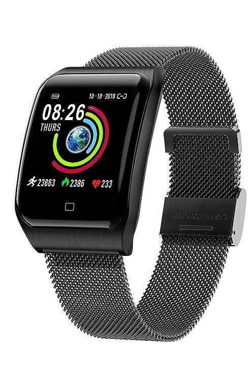 Amazon.com: Reloj inteligente con pantalla táctil IP67 ...