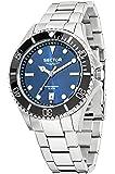 Sector No Limits - R3253161006 - 235 - Pendule Homme - Quartz Analogique - Cadran Bleu - Bracelet Acier Argent