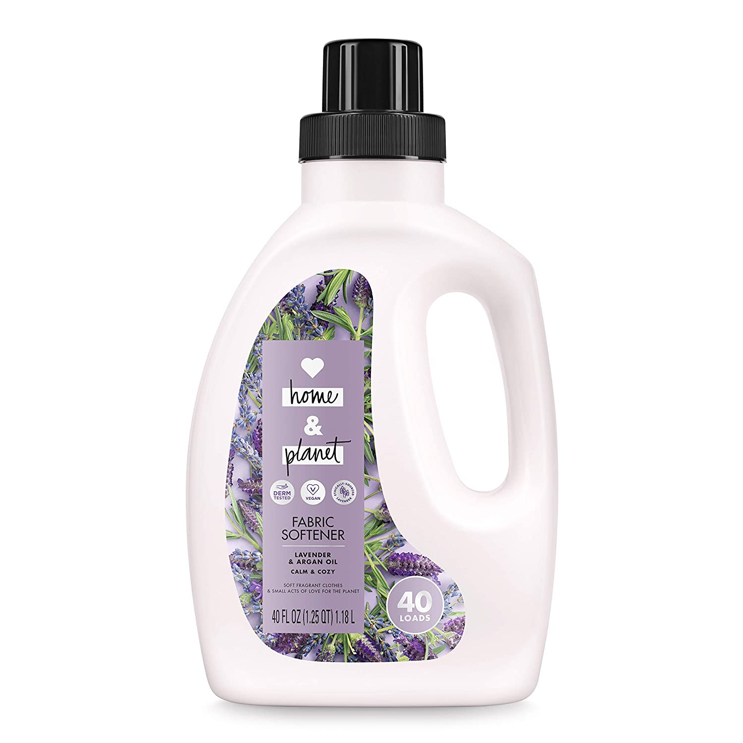 Love Home and Planet Fabric Softener Lavender & Argan Oil, 40 oz
