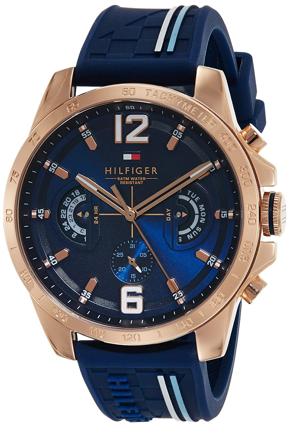Tommy Hilfiger Analog Blue Dial Men's Watch - TH1791474